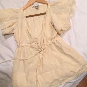 Diane  Von Furstenberg wrap shirt,